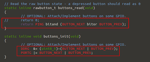 arch-config.h Button