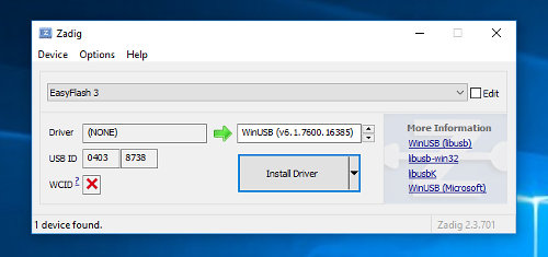 Windows 10 Driver