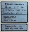 Commodore PC 20 Pic 4