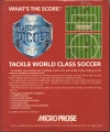 MicroProse Soccer Pic 2